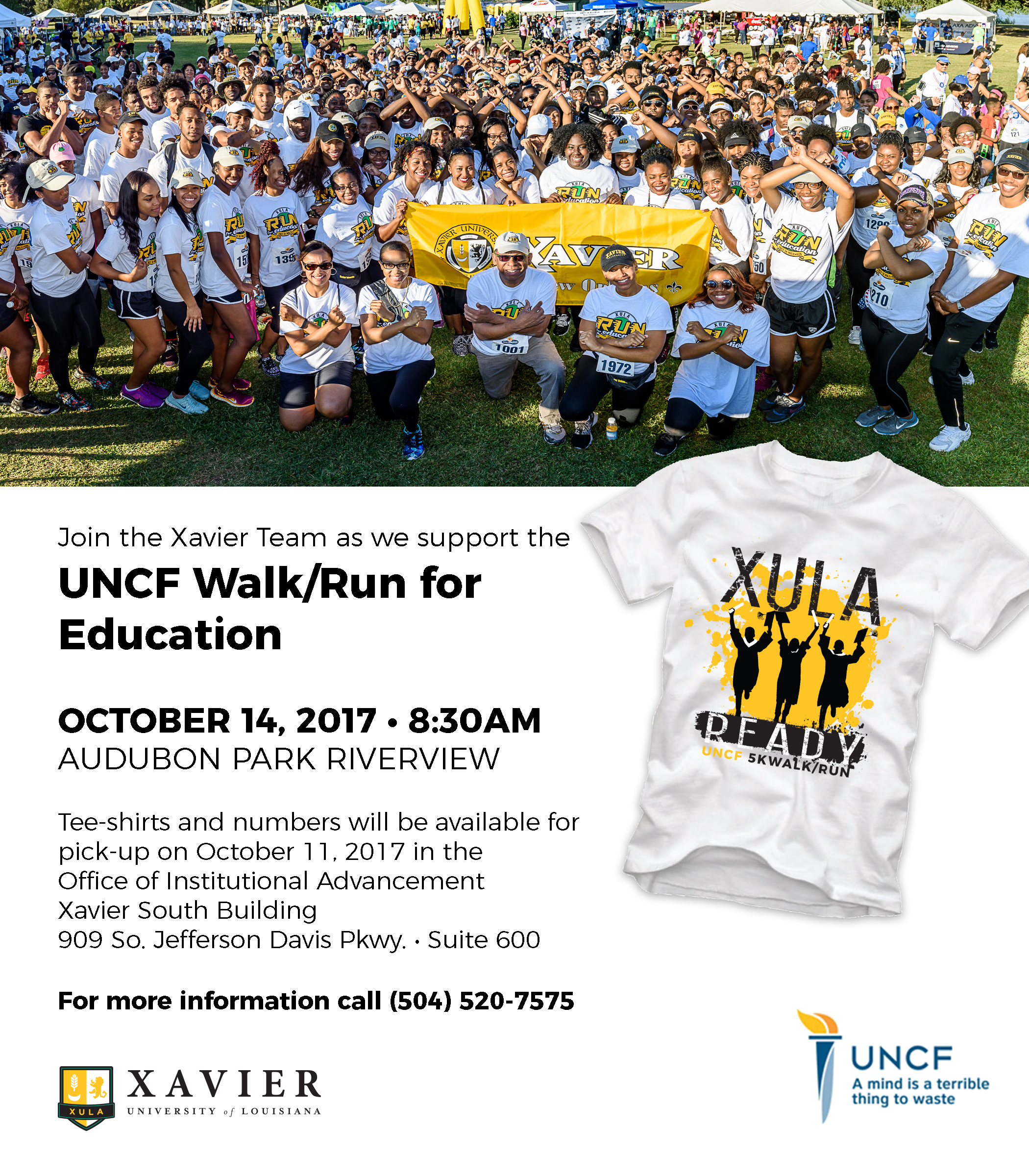 Revised 2017 UNCF Flyer